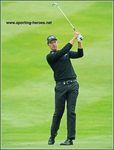 Henrik Stenson - Sweden - 3rd. at US PGA & 7th.at 2014 European PGA. Plus Ryder Cup.