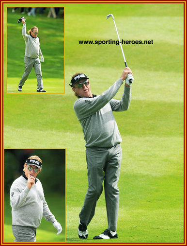 Miguel-Angel Jimenez - Spain - 2014 Fourth at U.S. Masters & European PGA Tour Victories.