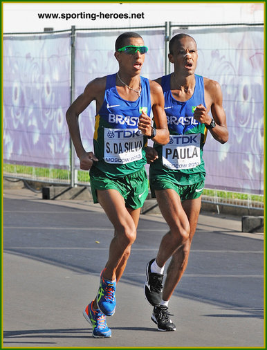 Paulo Roberto PAULA - Brazil - 7th place at 2013 World Championship marathon.