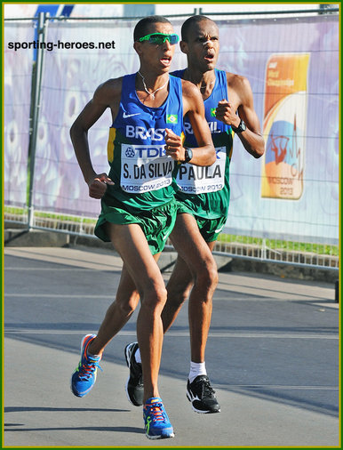 Solonei da SILVA - Brazil - Sixth at 2013 World Championships marathon in Russia.