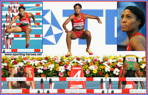 Queen HARRISON - U.S.A. - Fifth at 2013 World Athletics Championships 100mh.