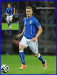Ignazio ABATE - Italia (Footballers) - 2014 World Cup Finals in Brazil.