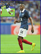 Blaise MATUIDI - France - 2014 World Cup Finals in Brazil.