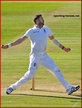 Liam PLUNKETT - England - Cricket Test Record for England.