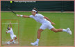 Roger FEDERER - Switzerland - 2014 Runner-up at Wimbledon 2014, semi finals in Aussie & U.S.