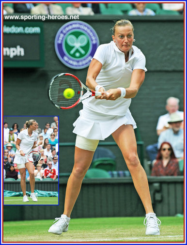 Petra Kvitova - Czech Republic - 2014 Wimbledon Ladies Lawn Tennis Champion.