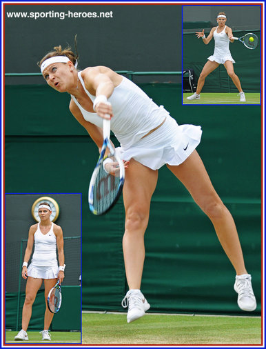 Lucie Safarova - Czech Republic - 2014 semi-finalist at Wimbledon