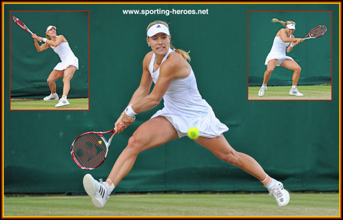 Angelique  KERBER - Germany - Quarter-finalist at Wimbledon 2014.