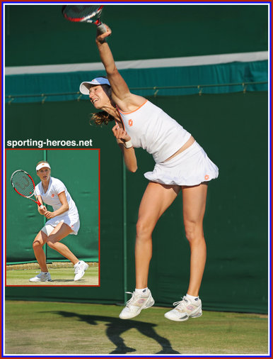 Ekaterina MAKAROVA - Russia - 2014 Quarter-finalist at Wimbledon, semi at U.S. Open.