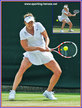 Alize CORNET - France - Last sixteen at Wimbledon 2014.