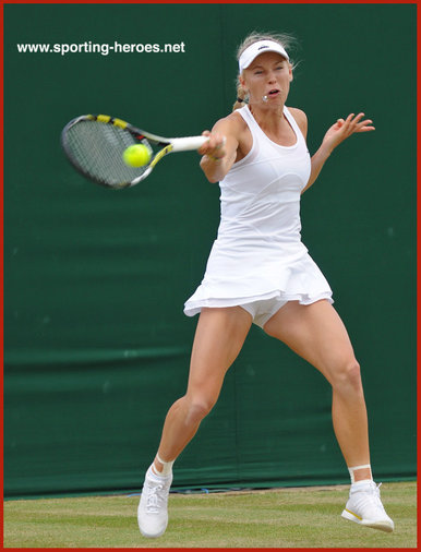 Caroline Wozniacki - Denmark - Finalist at U.S. Open for 2nd time (2014).