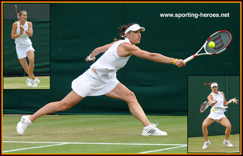 Andrea PETKOVIC - Germany - Semi-finalist at 2014 French Open.