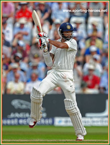 Shikhar DHAWAN - India - Test Record for India.