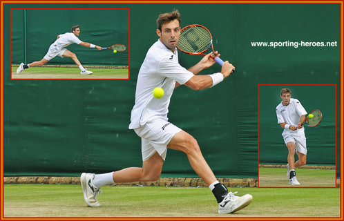 Marcel GRANOLLERS - Spain - 2014 Last sixteen at French Open.