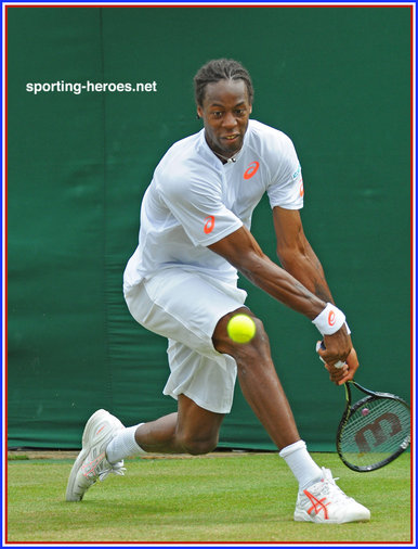 Gael Monfils - France - Quarter-finalist at French Open 2014.