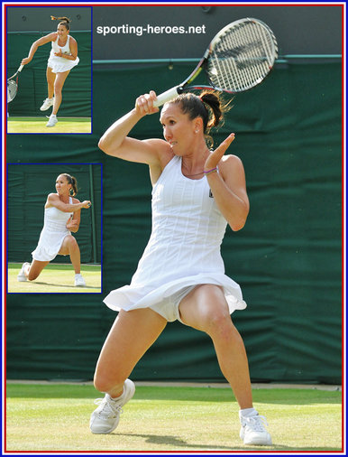 Jelena Jankovic - Serbia - 2014 Last sixteen in Paris, Melbourne & U.S. Open.