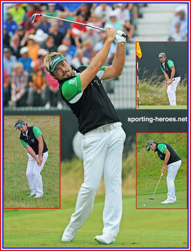 Victor DUBUISSON - France - 2014: 9th.at The Open, 7th at U.S. PGA. Victory at Ryder Cup.
