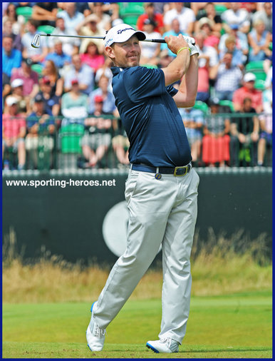 Stephen Gallacher - Scotland - 15th. at 2014 Open Championship & Ryder Cup success.