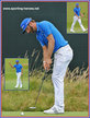 Dustin JOHNSON - U.S.A. - 12th. at 2014 Open Championship.
