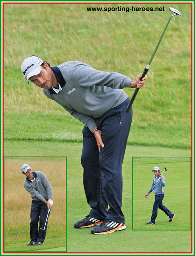 Edoardo MOLINARI - Italy - Seventh place at 2014 Open Golf Championship.