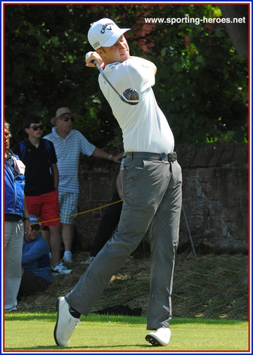 Chris KIRK - U.S.A. - Top twenty finish in 2014 Open (and Masters).
