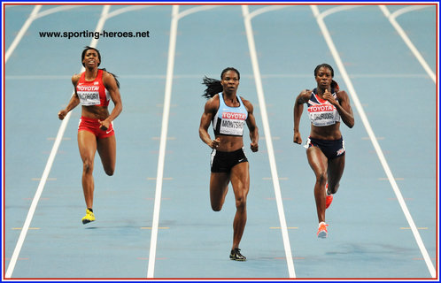 Francena MCCORORY - U.S.A. - Sixth place at 2013 World Championships in Russia.