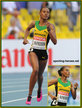 Stephanie MCPHERSON - Jamaica - 4th. in 400m at 2013 World Championships.