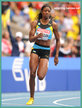 Shaunae MILLER - Bahamas - Fourth place at 2013 World Championships in 200m