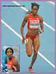 English GARDNER - U.S.A. - 4th. place in 100m at 2013 World Championships.