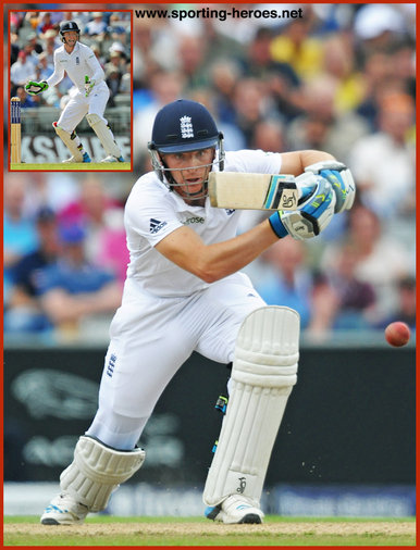 Jos BUTTLER - England - International Test Cricket career.