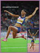 Eloyse LESUEUR - France - European long jump champion for the second time.
