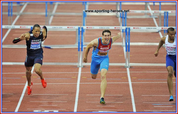 Sergey SHUBENKOV - Sergey retains his European 110m hurdles title in ... f26dbae56275c