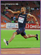Benjamin COMPAORE - France - European men's triple jump champion in 2014.
