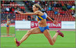 Olha SALADUHA - Ukraine - Women's triple jump Champion in Zurich 2014.