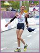 Christelle DAUNAY - France - Marathon win in record time at 2014 European Championship.