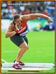 Christina SCHWANITZ - Germany - Winner women's shot put at 2014 European Championships.
