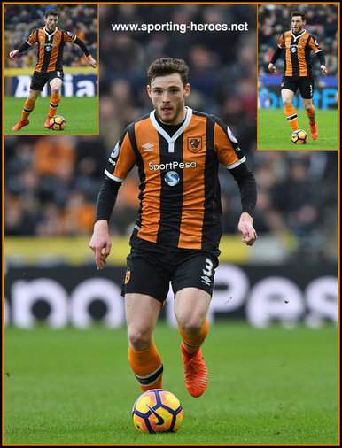 Andrew ROBERTSON - Hull City FC - Premiership Appearances