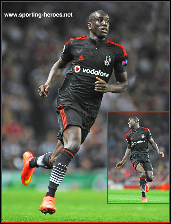 Demba BA 201415 Champions League Play Off Games Besiktas