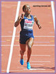 Myriam SOUMARE - France - Medals in 100m & 200m at 2014 European Championships.