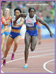 Anyika ONUORA - Great Britain - Gold medal 4 x 100m relay at 2014 European Championships