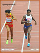 Indira TERRERO - Spain - 3rd. in 400m at 2014 European Championships.