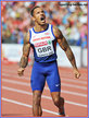 James ELLINGTON - Great Britain - Gold medal men's 4x100m relay at 2014 European Championships