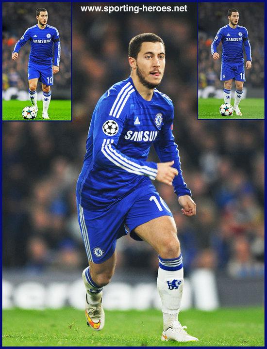 Eden HAZARD - 2014 15 UEFA Champions League games. - Chelsea FC 8c987f1fc