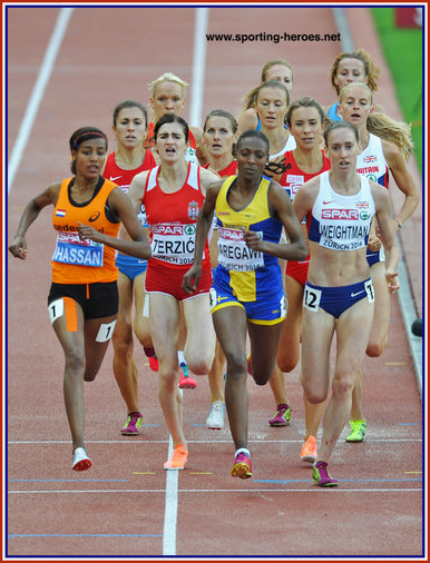 Laura WEIGHTMAN - Great Britain - 2014: medals at Commonwealth & European Championships.