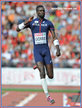 Kafetien GOMIS - France - 3rd. in long jump at 2014 European Championships.