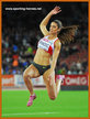 Ivana SPANOVIC - Spain - Second in long jump at 2014 European Championships.