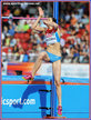 Mariya KUCHINA - Russia - Silver medal in high jump at 2014 European Championships.