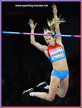 Angelina ZHUK-KRASNOVA - Russia - Bronze medal at 2014 European Champs in pole vault.