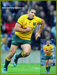 Matt HODGSON - Australia - International rugby union caps for Australia.