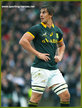 Eben ETZEBETH - South Africa - International rugby caps for the the Spingboks.